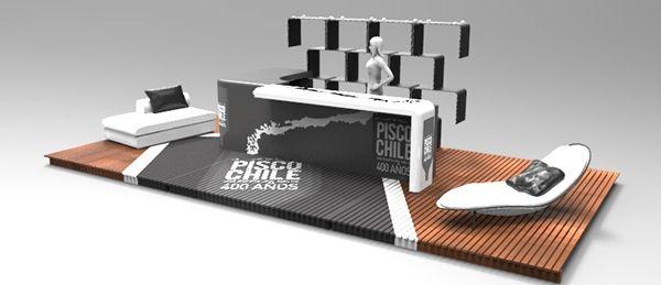 BAR MODULAR PISCO CHILE on Behance