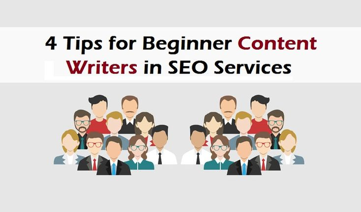 4 Tips for Beginner Content Writers in SEO Services
