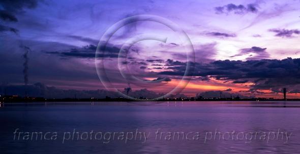 Purple sunset  framcaphotography.com