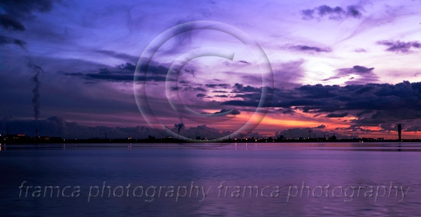 Purple sunset  framcaphotography.com