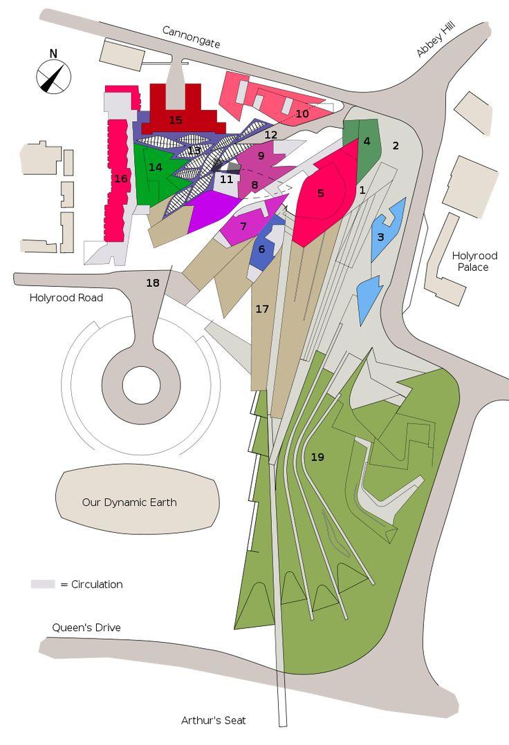 Scottish Parliament site plan - Scottish Parliament Building - Wikipedia