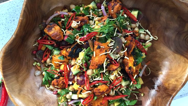Spice up your life with this bombay salad that is exploding with flavour!