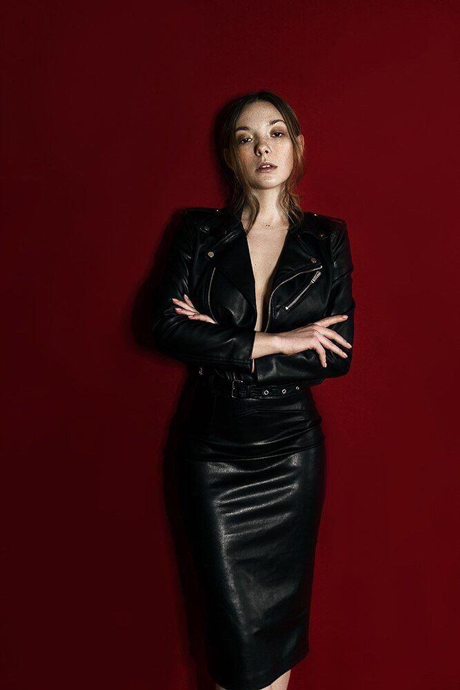 Olga Kobzar | Olga, Olga, Olga! Kobzar in 2019 | Leather ...