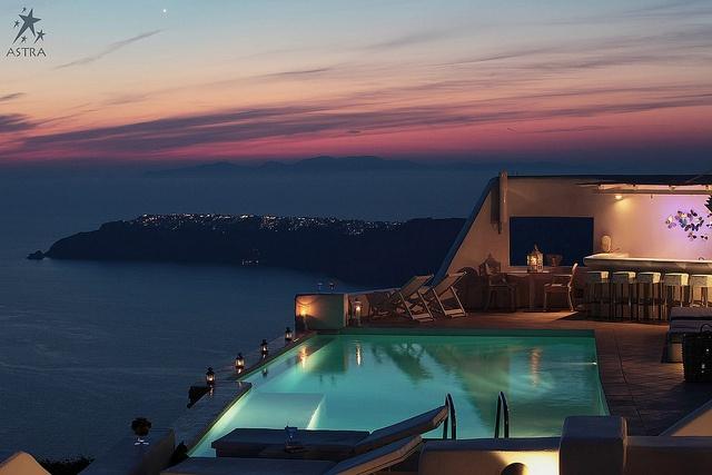 Pool Area-Astra Suites, Imerovigli, Santorini, Greece by Astra Suites - Santorini, via Flickr
