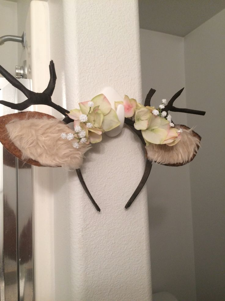 81 best creative antlers and ears images on pinterest for Fake deer antlers for crafts