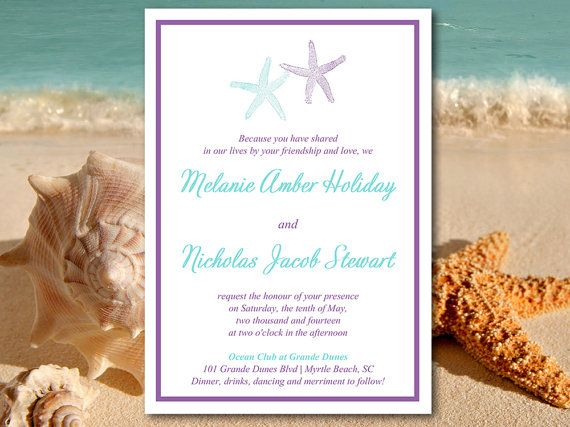 Beach Themed Wedding Invitations Templates: 1000+ Ideas About Invitation Templates On Pinterest