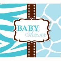 Baby Shower Blue Invitations (8pk) $7.95 20897385