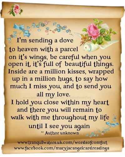 In memory of my mom Linda who went to heaven in 1986. I miss you on your birthday today, September 25, 2013.
