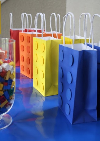 As the boys get older... they might want a Lego Party!  #Goody bags