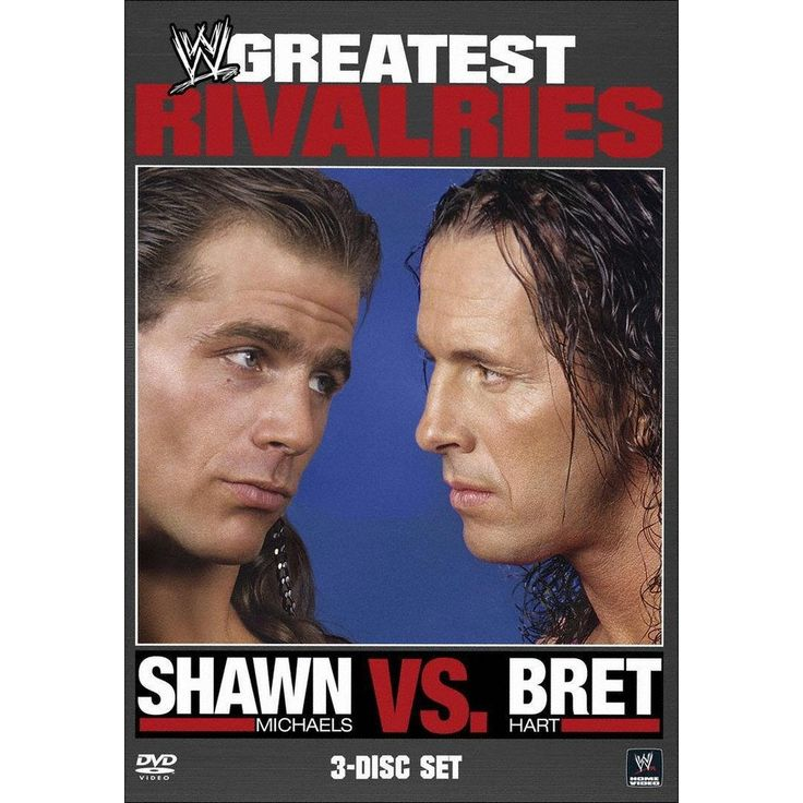 WWE's Greatest Rivalries: Shawn Michaels vs. Bret Hart [3 Discs]