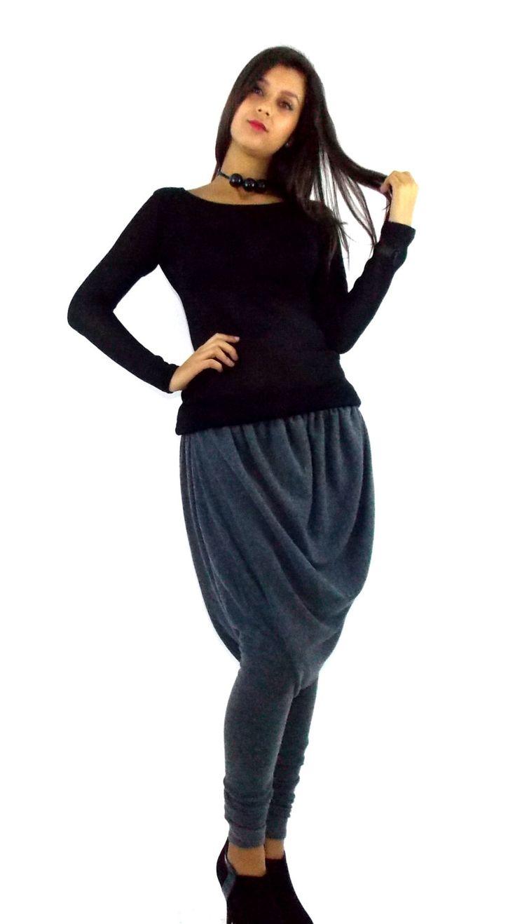 Now trending: Teyxo Wool Warm Harem Pants / Soft Charcoal Grey Drop Crotch Pants TP04 / FALL WINTER 2014/15 https://www.etsy.com/listing/209070595/teyxo-wool-warm-harem-pants-soft?utm_campaign=crowdfire&utm_content=crowdfire&utm_medium=social&utm_source=pinterest