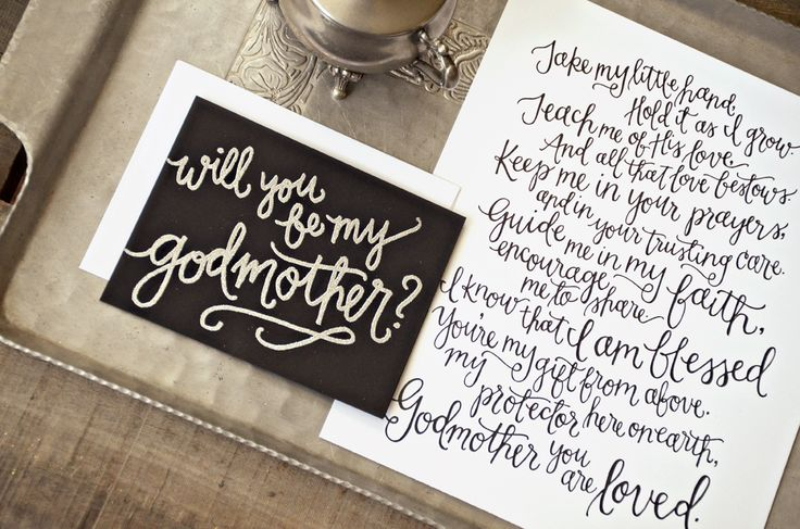 asking godparents wording | dromibi.top