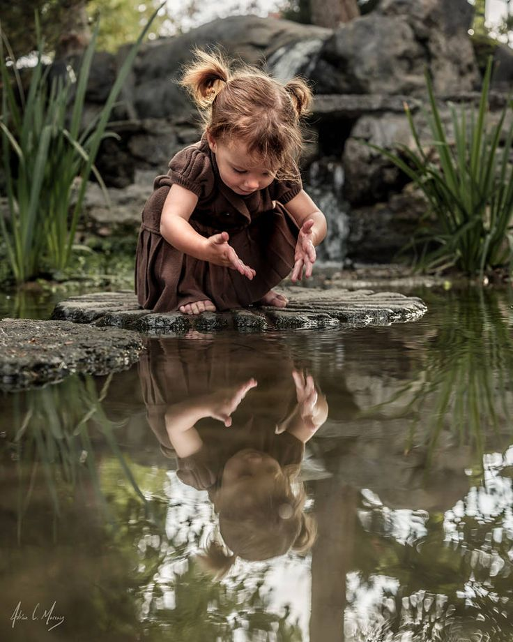 Toddler Play by Adrian C. Murray on 500px Me at pretty much any source of water 😅