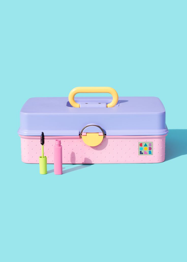 Toolbox for Your Beauty Needs /Violet Tinder Studios