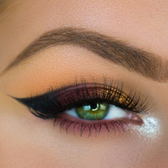 Blend eyeshadows in peach smoothie and chickadee into crease and lower lash line. Darken up outer corner and lower lash [...]