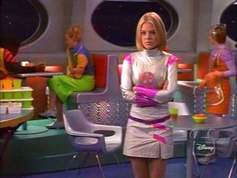 Han, there's also this apt costume from Zenon: The Zequel...