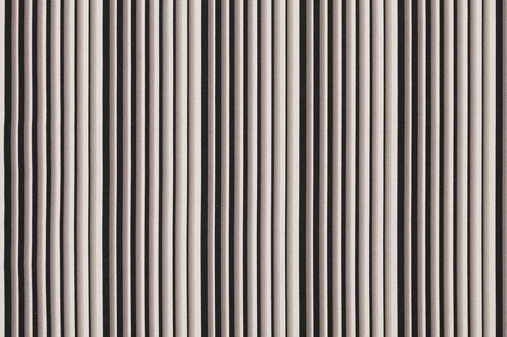 Stream in Monochrome / SHIMA-SHIMA <Kokura-ori Textile / KOKURA Stripes>