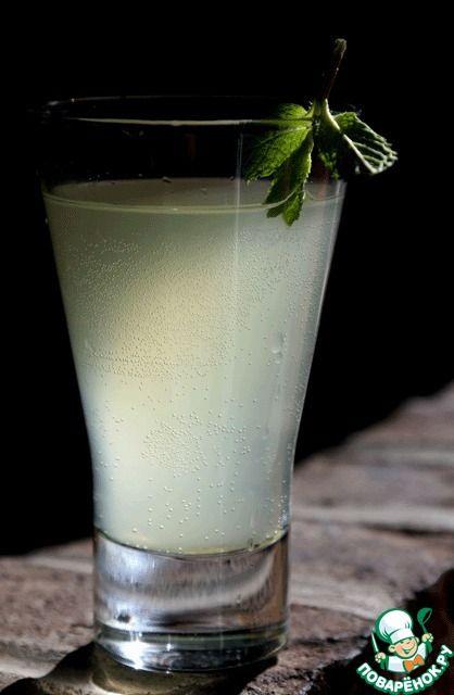 Лимонный коктейль с джемом - кулинарный рецепт