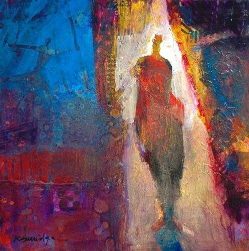 Acrylic Painting Workshop Edmonton Abstract