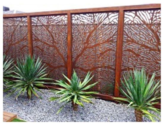 The 25 best outdoor privacy screens ideas on pinterest patio ideas with no grass pergola - Metallic pergola design ideas seven elegant choices ...
