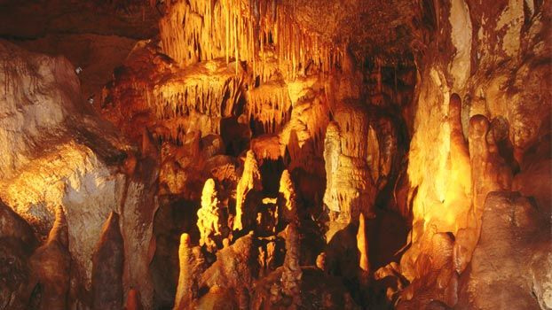 Naracoorte Caves, SA - world heritage site - about 3000 km from Perth
