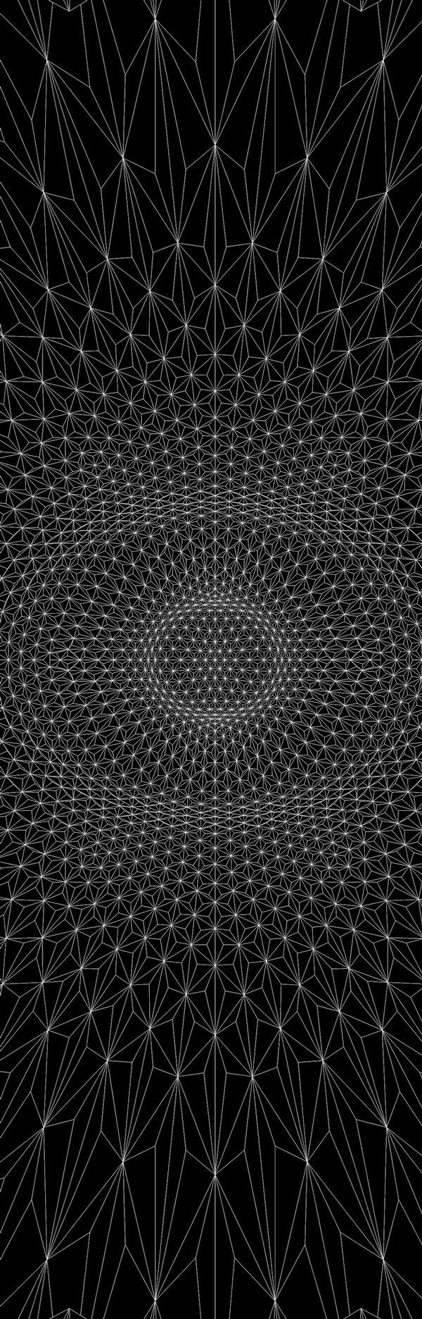 e:merge | Anaglyph 3D A/V Performance / Sacred Geometry <3