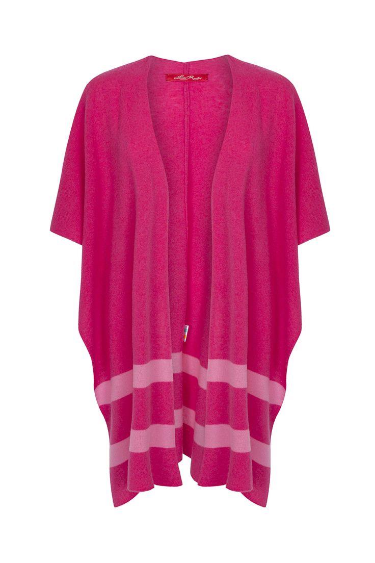 Louise Rawlins Rosebud & Candy Pink Blanket Shawl €299 www.louiserawlins.ie