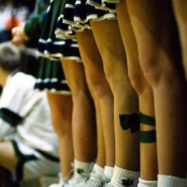 Learn how to sew your own pleated cheerleader skirt.