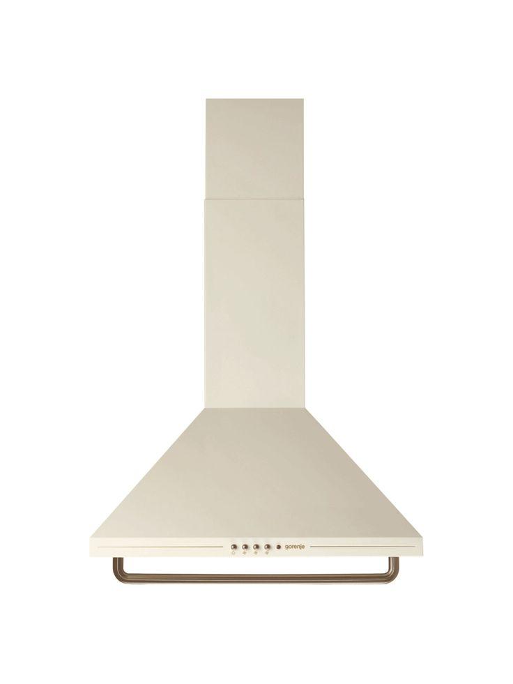 Gorenje DK63CLI Classico Ivory Chimney Cooker Hood | MyAppliances
