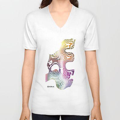 Imagine #025 - V-neck T-shirt