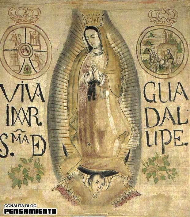 La corona desaparecida de la Virgen de Guadalupe y el fraude histórico guadalupano - CGnauta blog