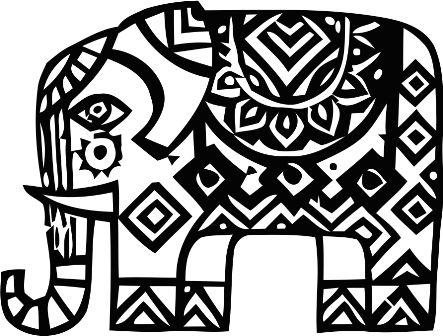 Индийский орнамент OG