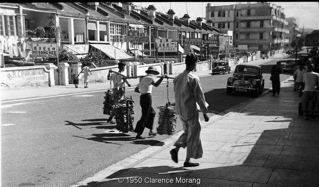 Granville Road - Firewood (1950)   Granville. Hong kong