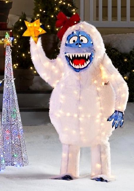 25 best ideas about abominable snowman rudolph on for Abominable snowman holiday decoration