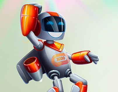 "Check out new work on my @Behance portfolio: ""Robot 3000"" http://be.net/gallery/47593729/Robot-3000"