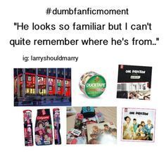dumbest fanfic moments one direction - Google Search