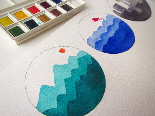 Watercolor Projects For Kids Kids At Heart Watercolor Projects