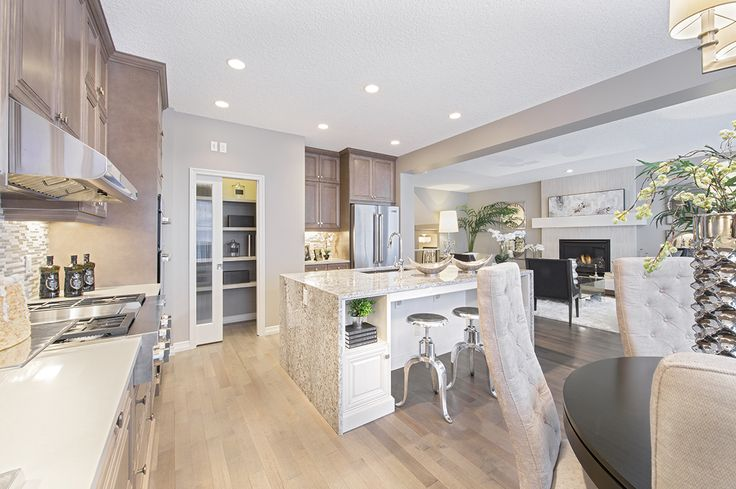 Pin by patricia vera on show home pinterest bays home for Ak kitchen cabinets calgary