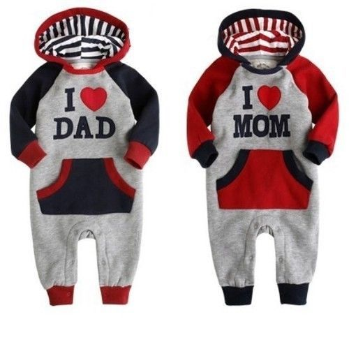 WINTER 2013 Long Sleeve Romper All In One Hoody Sport Suit 6 9 12 18 24 next dd | eBay
