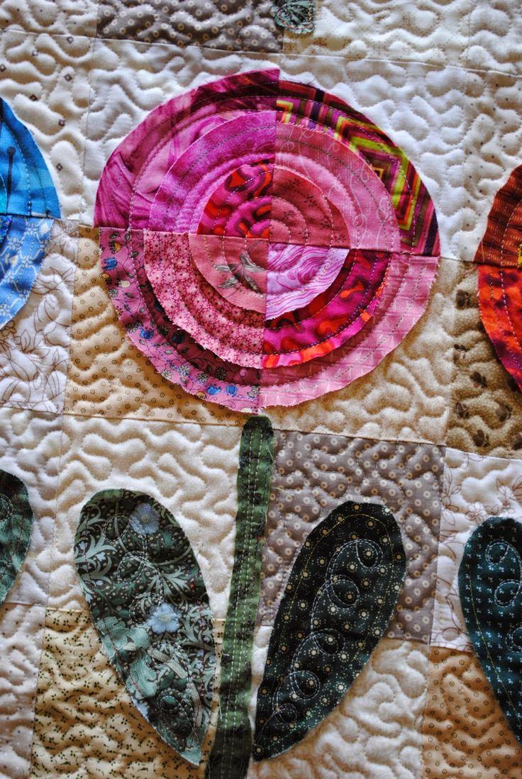 M s de 1000 ideas sobre acolchado de retazos en pinterest patchwork labor de retales y - Acolchados en patchwork ...