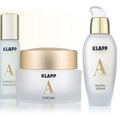 ..hier finden Sie alle Kosmetikprodukte von Klapp Kosmetik übersichtlich nach Produktlinien sortiert zum bequemen Onlinekauf