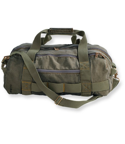 sea washed canvas duffle from ll bean des