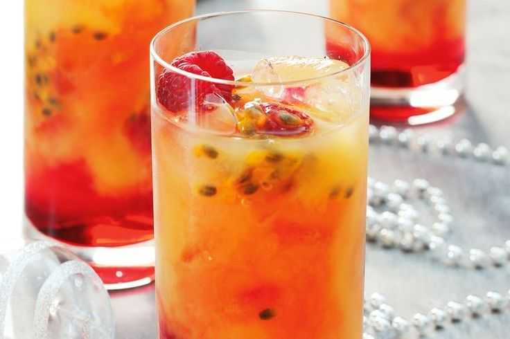 Passionfruit cocktail