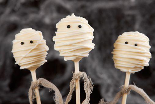 Cakepops de Momia