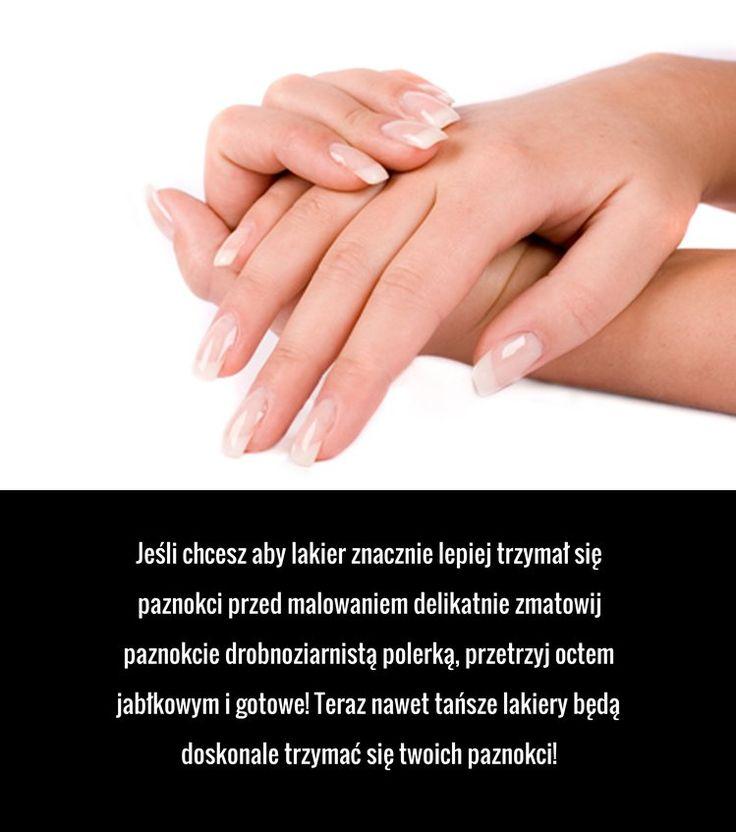 Trik na nieodpryskujące manicure, którego nie znasz!