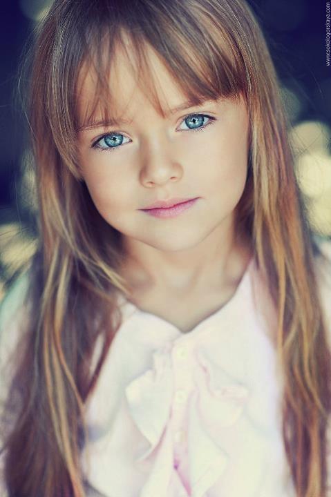 Russian Model - Kristina Pimenova   such a beautiful little girl.