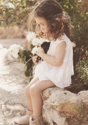 : Baby Girls Hair, Cat, Kids Style, Flowers Children, Curly Hair Style, Baby Need, Little Girls Photos, Hippie Girls, Daughters