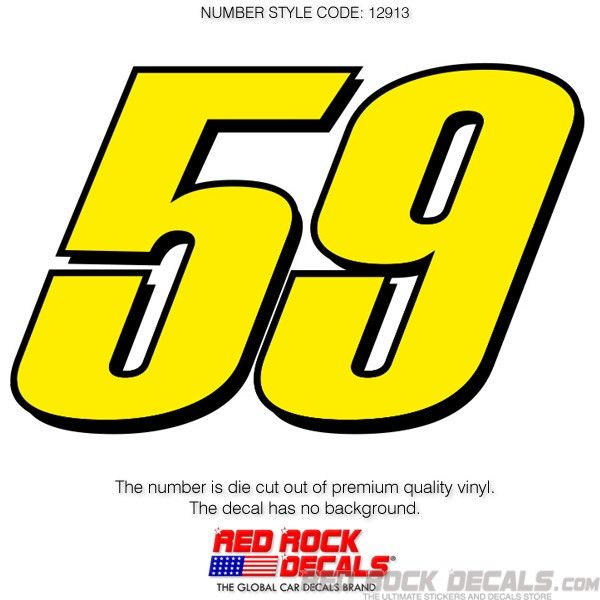 nascar car numbers and drivers