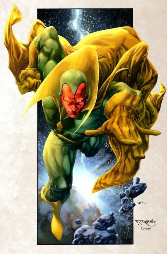 Vision,  the Android Avenger