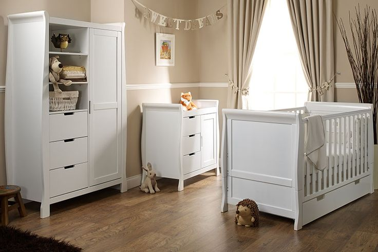 Obaby Lincoln 3 Piece Room Set – White – RRP £919.99